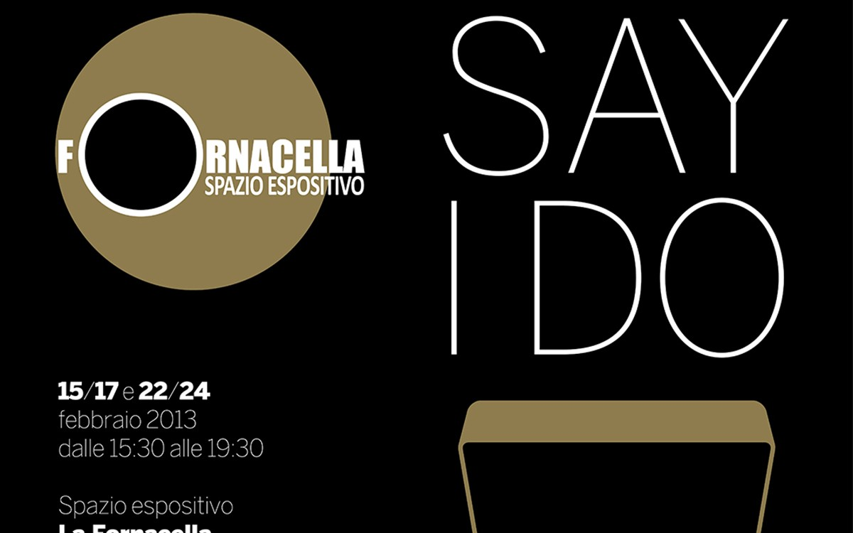 SAY I DO - Mostra sulla fotografia di matrimonio