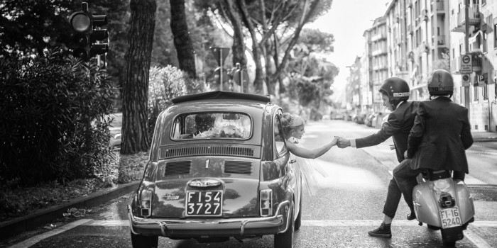 Veronica and Claudio {wedding in florence}