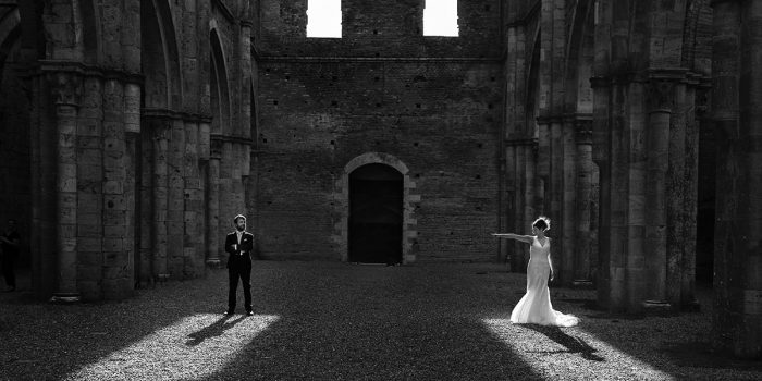Wedding in San Galgano Abbey - Francesca and Nicola