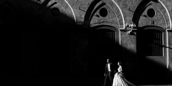 Elopement session in Tuscany - a new wedding trend